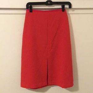 NWOT Red pencil skirt 2P